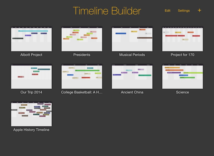 The Timeline Builder screenshot-1