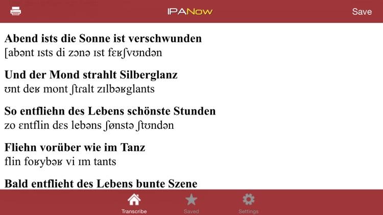 IPANow! German