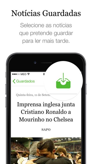 SAPO Jornais screenshot four