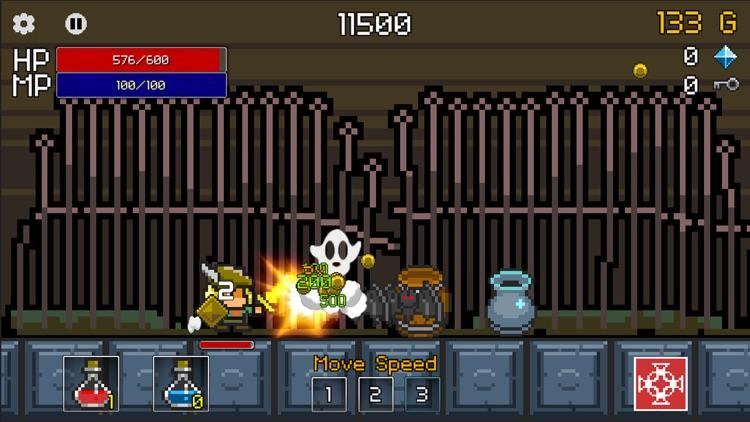 Buff Knight - RPG Runner screenshot-3