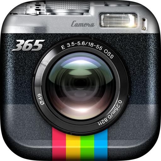 Camera 365 X Pro - 600 Filters Effect Darkroom Camera