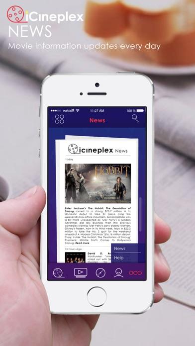iCineplex iPhone