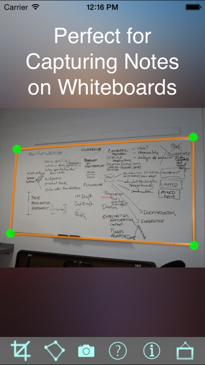 CaptureBoardPro: Scan Whiteboard, Business cards, receipts and more. screenshot-0