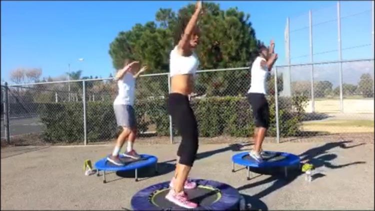 Rebounder Fitness Master Class screenshot-4