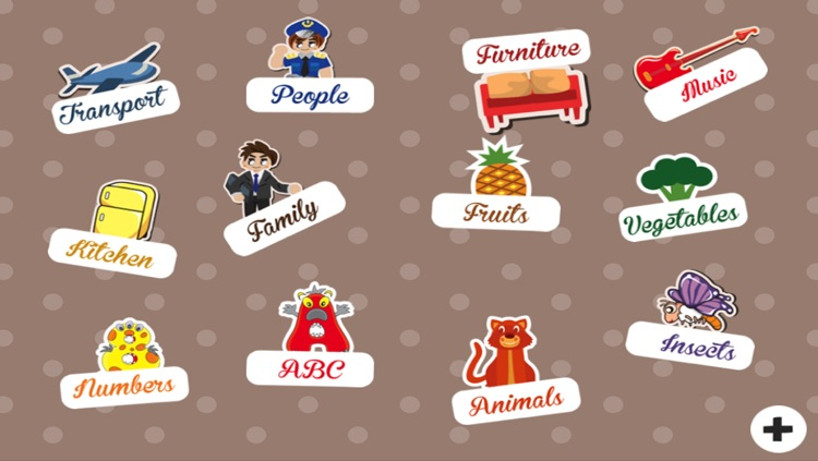Abc Children S First Words Learn The English Names Of Kitchen