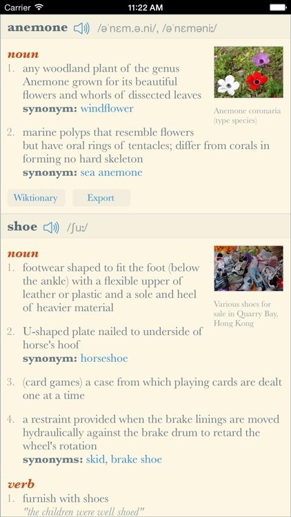 Dictionary+: Elegant offline dictionary with images