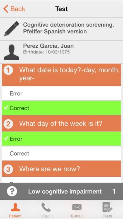 Nurse Test - Nursing and Paramedic healthcare questionnaire screenshot-3