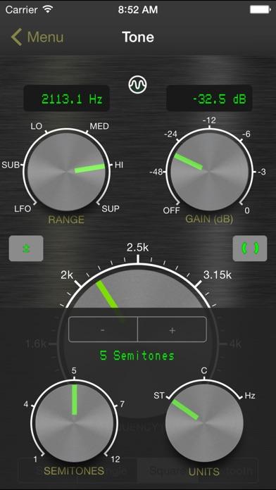 Signal Generator: Audio Test Tone Utility by Media Punk Studios (iOS