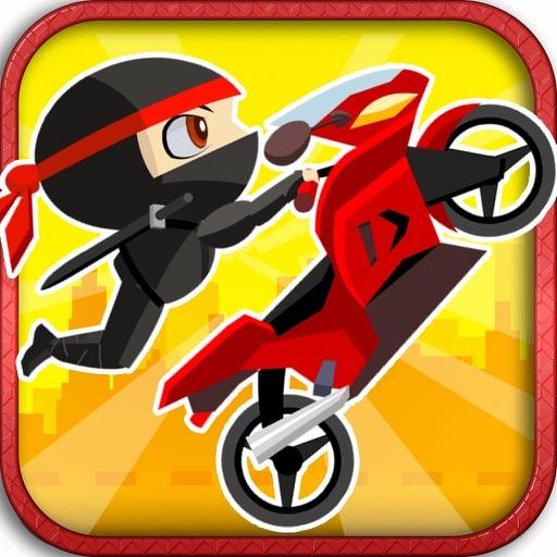 Cool Kids Ninja Run - Fun Dirt Bike Games for Boys & Girls Free by