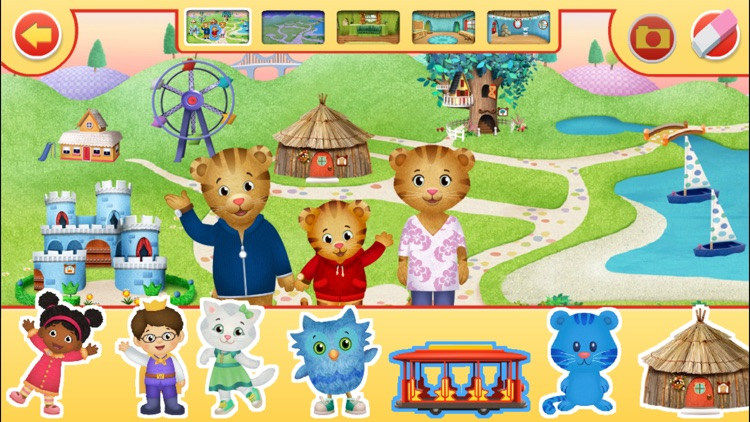 Daniel Tiger's Neighborhood: Play at Home with Daniel screenshot-4