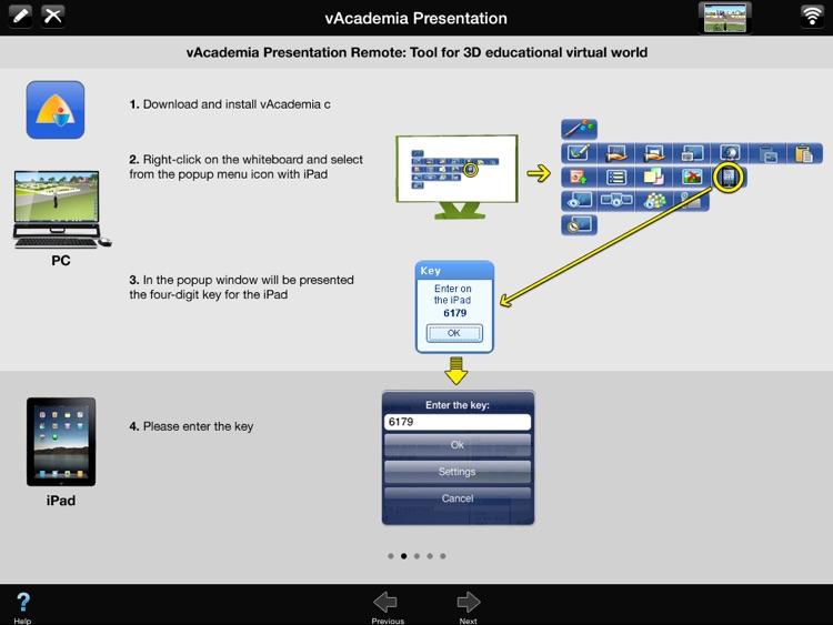 vAcademia Presentation Remote