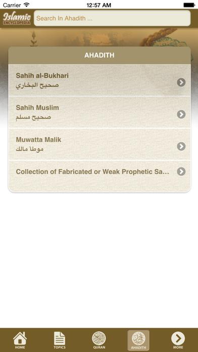 Islamic Encyclopedia screenshot four