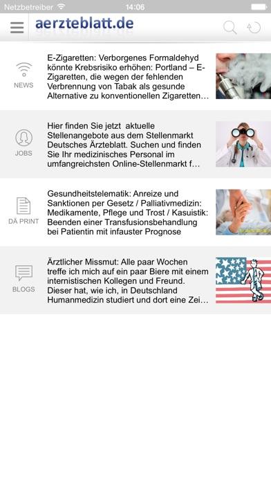 Screenshot for aerzteblatt.de in Germany App Store