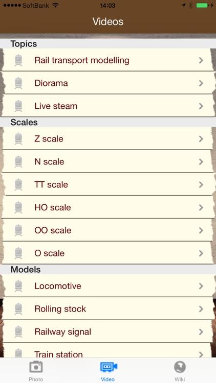iModel Trains