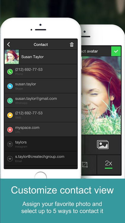 One Touch Dial - T9 speed dial call your favorite contacts and quick photo dialer app launcher for social networks. screenshot-3