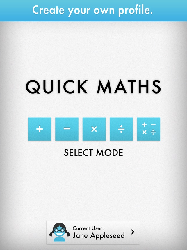 Quick Maths - Arithmetic & Times Table Game on the App Store