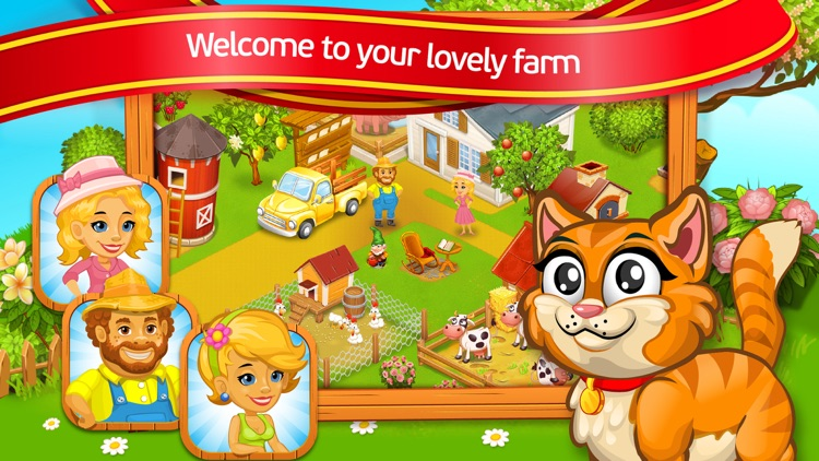 Farm Town: Lovely Pets