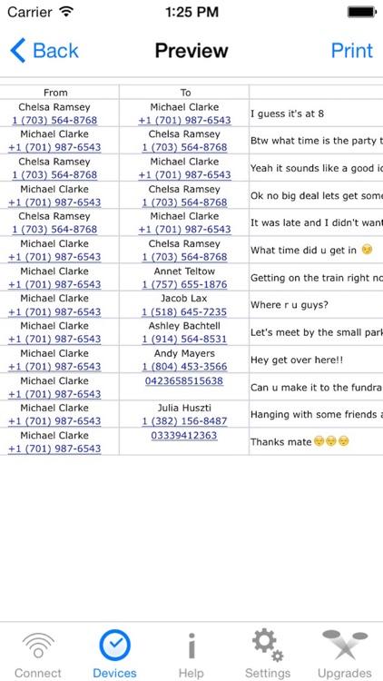 Export SMS PRO - Text Exporter screenshot-3