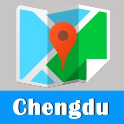 Chengdu offline map and gps city 2go by Beetle Maps, China Chengdu travel guide street walks, airport transport Chengdu metro subway lonely planet Chengdu trip advisor