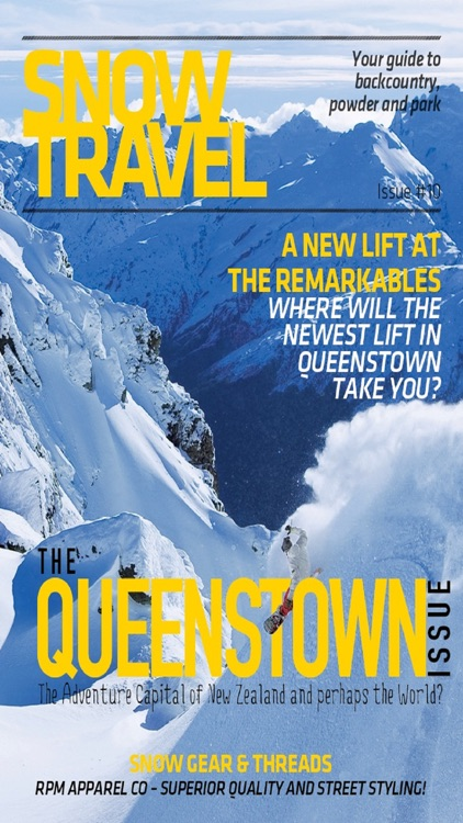 AAA - Snow Travel Magazine - Awesome FREE Digital Ski and Snowboard Holiday Guide for iPhone & iPad! screenshot-3