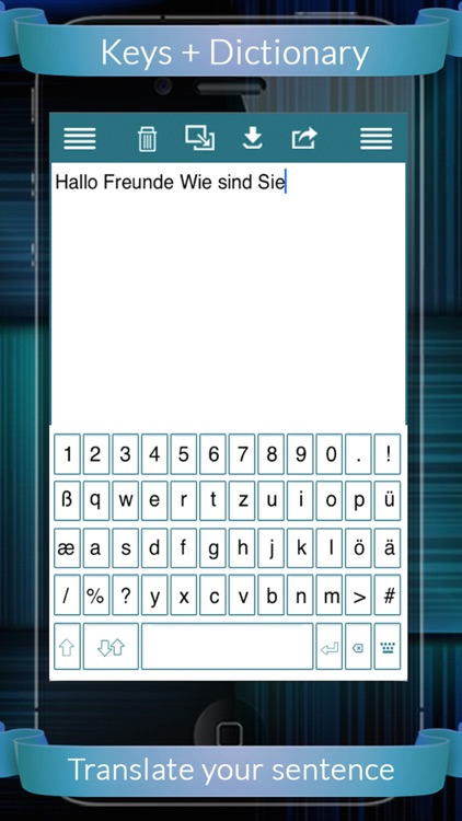 German Eng Dic + Keys (English to German & German to English) screenshot-4