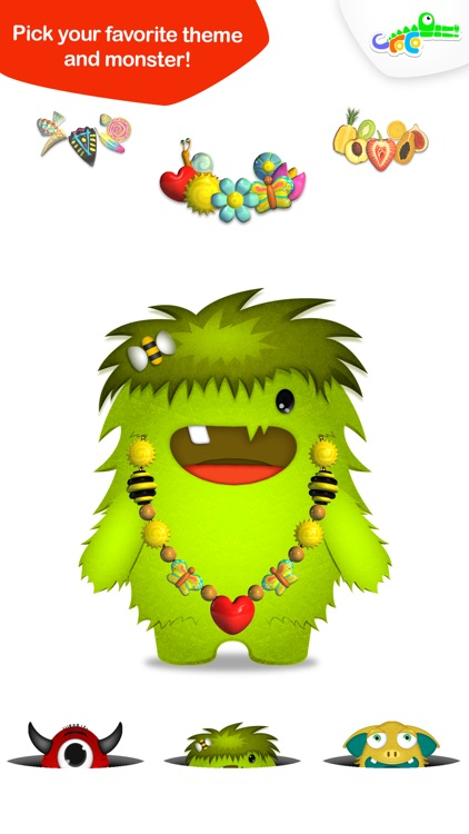 Design and Play - Monster Cute Jewels For You screenshot-4