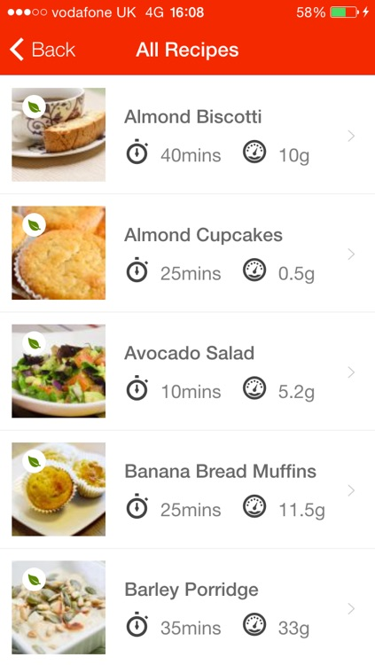 Diabetes Recipe App screenshot-3