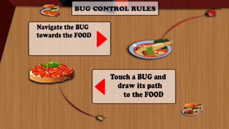 Bug Control - Don't Squash But Feed These Heroes