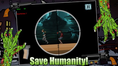 Zombie Attack Sniper Shooting Game FREE screenshot three