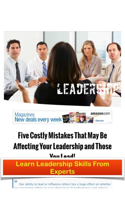 Leadership Inspirational Magazine - Leadership Skills and Productivity Secrets of Inspiring Leaders screenshot-4