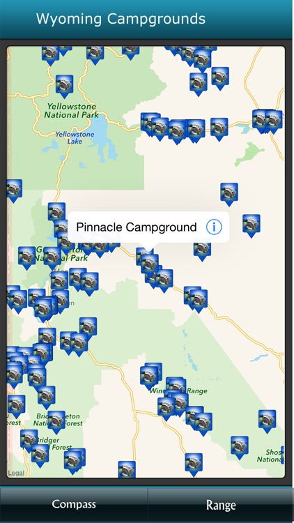 Wyoming Campgrounds