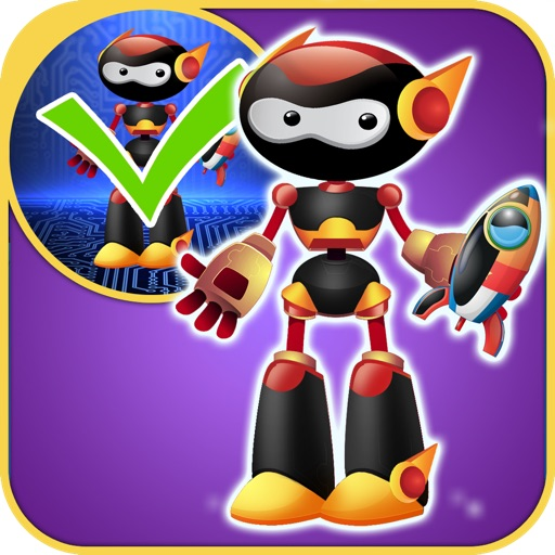 My Awesome World of Little Robots Draw & Copy Game Pro - Dress Up The Virtual Power Robot Hero For Boys - Advert Free