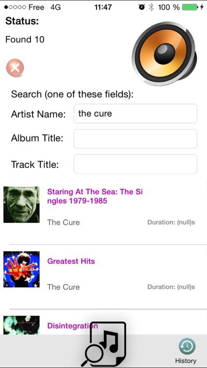 Music Scanner FREE