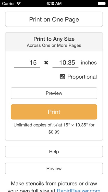 Stencil Printer: Print Full Size Art & Calligraphy Designs screenshot-4