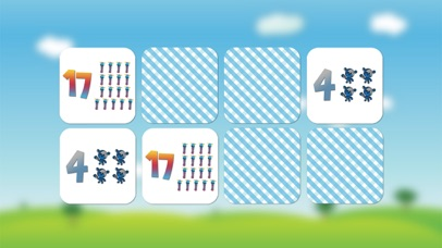 Numbers game 1 to 20 flashcards screenshot three