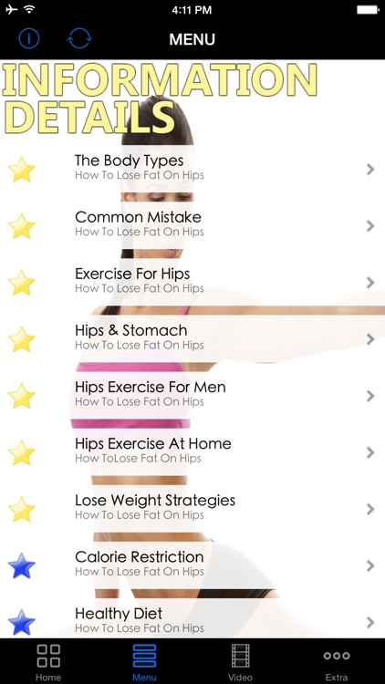 How To Lose Hip Fat Guide - Best Healthy Diet Plan For Burning Your Belly, Butts & Thighs Fat Fast.  Start Today!