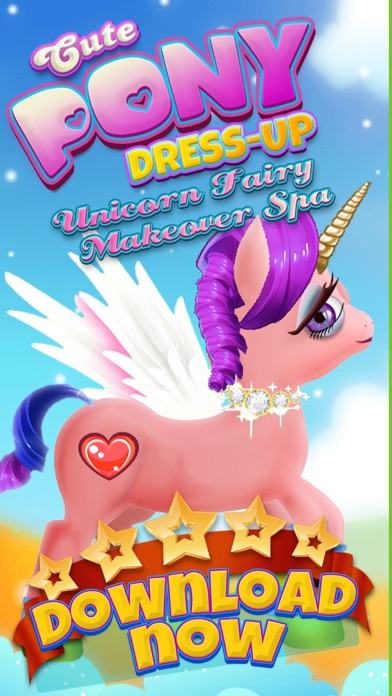A Cute Pony Dress-Up Salon & Unicorn Fairy Makeover Spa screenshot one