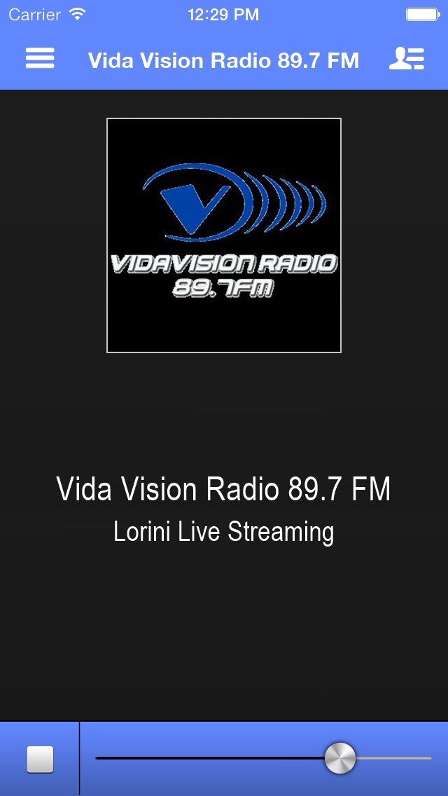 Vida Vision Radio 89.7 FM screenshot one