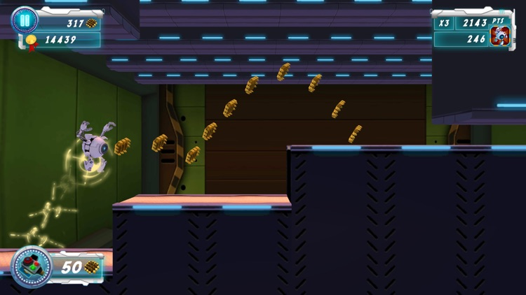 3D Robot Ico Run and Jump - Endless Runner Game Adventure screenshot-3