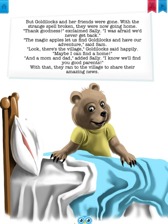 Goldilocks and the Magic Apples - Have fun with Pickatale while learning how to read! screenshot-3