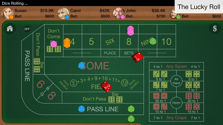 Craps Multiplayer