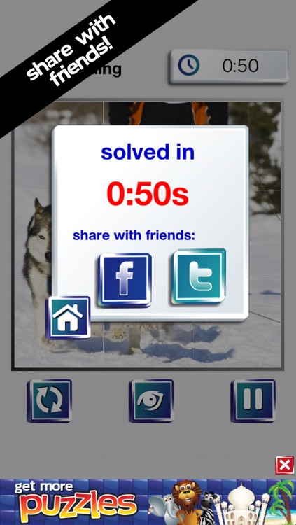 Winter Wonderland Puzzles - Snow, Penguins, Ice Castles and Moutains screenshot-4