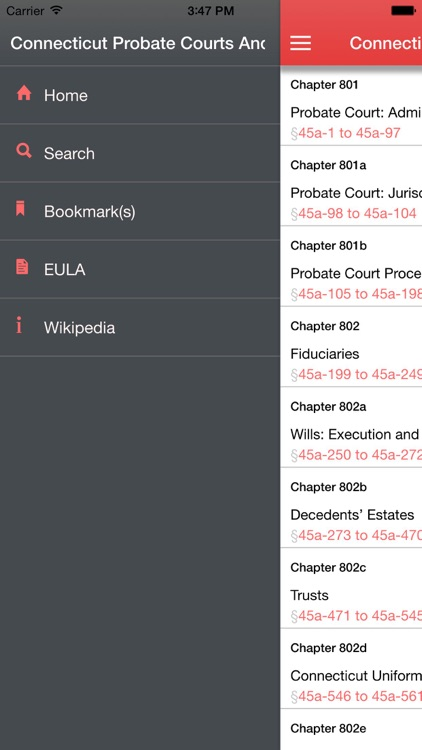 Connecticut Probate Courts And Procedure screenshot-3