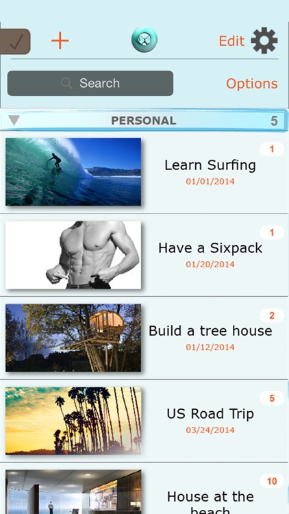 DreamCloud Lite – Goal Setting, Vision Board & Task List