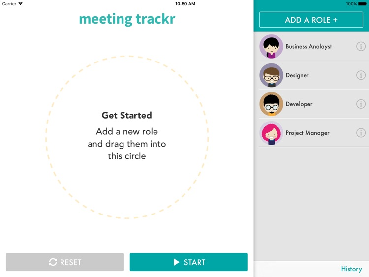 Meeting Trackr - Make your meetings count