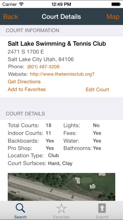 Tennis Court Locator 2.0