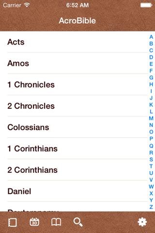 KJV Bible / AcroBible Suite screenshot 1