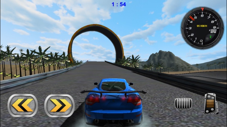 3D Stunt Car Race - eXtreme Racing Stunts Cars Driving Drift Games screenshot-3