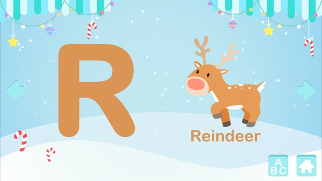 ABC: Christmas Alphabet For Kids - Learn the Alphabet on the App Store