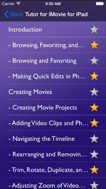 Tutor for iMovie for iPad screenshot-1